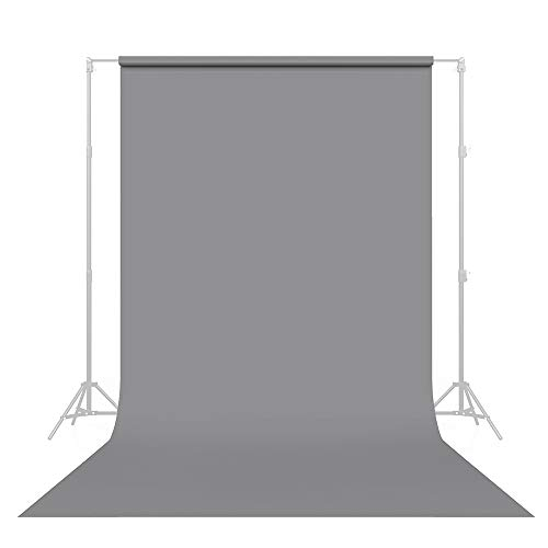 Savage Seamless Paper Photography Backdrop - #56 Fashion Gray (86 in x 36 ft) Made in USA
