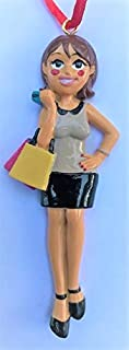 Always Shopping Fashion City Girl Woman Ornament Well Dressed Gift