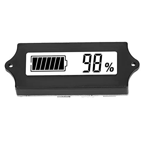 Save %9 Now! ASHATA Battery Capacity Voltage Meter,12-84V GY-6G Battery Power LCD Digital Display Vo...