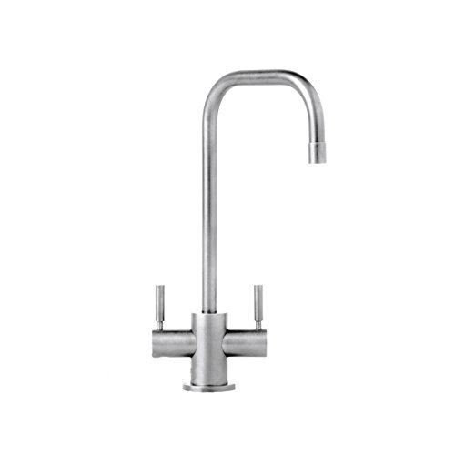 Lowest Prices! Waterstone 1625-PN Fulton Suite Contemporary Two Handle Bar Faucet, Polished Nickel, ...