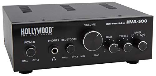 HOLLYWOOD the Starsound - Amplificatore HiFi | HVA-500 | 2 x 100 W, Bluetooth, 1863294, 2 x 100 W, Bluetooth
