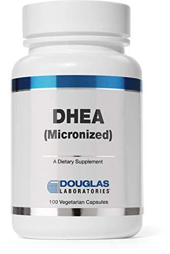 DOUGLAS LABORATORIES - DHEA 10 mg - Micronized to Support Immunity, Brain, Bones, Metabolism and Lean Body Mass - 100 Capsules