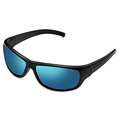 Polarized Sports Sunglasses for Men Women Sun Glasses Shades for Fishing Driving Cycling Running