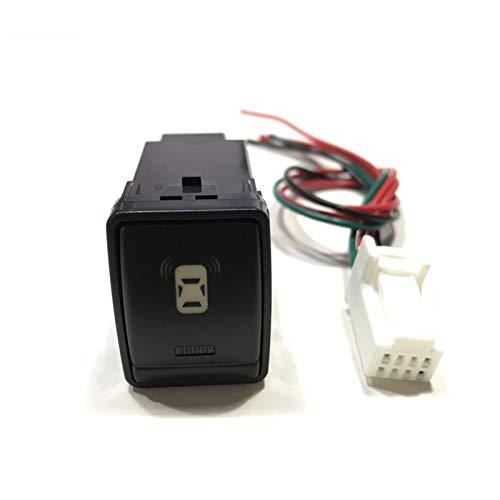 Monitor de cámara de estacionamiento Trasero LED Frontal antiniebla luz Radar Radar Radar Radar Radar Switch Botton Line para Nissan Navara (Color : Radar Parking Sensor)