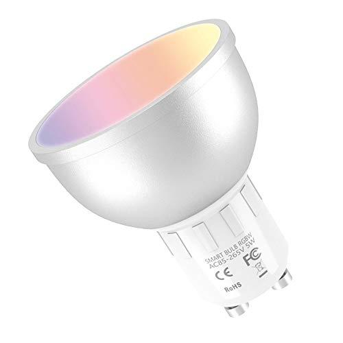muvit iO Bombilla Inteligente GU10/5W/400lm RGB+Blancos D50*H56