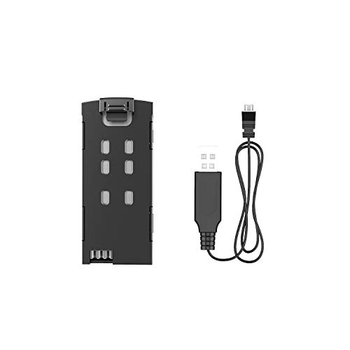 Holy Stone 3.7V 450mAh Battery and USB Charger Cable for HS370 Drone