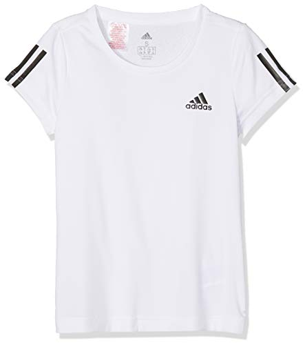 adidas Mädchen Equipment T-Shirt, White/Black, 164