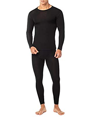 LAPASA Boys Waffle-Knit Thermal Underwear Set Long John Top and Bottom B06