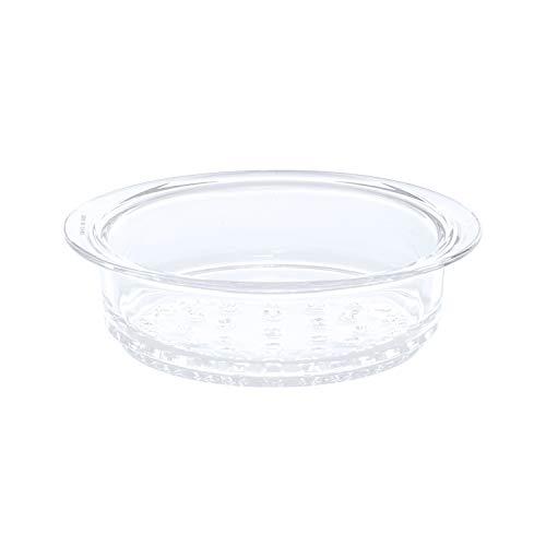 Cestello vapore in vetro temperato, da 20 cm Trasparente