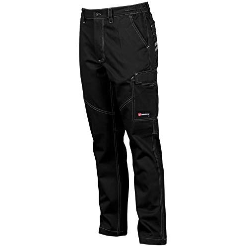 CHEMAGLIETTE! Pantaloni da Lavoro Uomo 100% Cotone Estivo Multi Tasche Payper Worker Summer