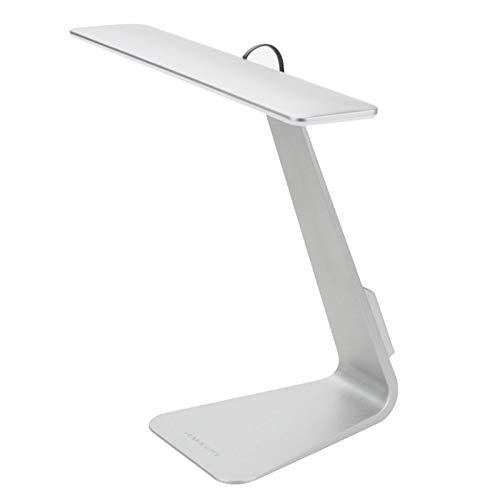 Zaklamp LED tafellamp, 28 LEDs 200 LM USB oplaadbare Eye-care Desk Lamp Touch Led Leeslamp met LED-batterij-indicator licht, DC 5V Eye-Care Desk Lamp (Color : Silver)