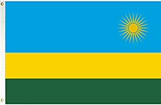 Vista Flags 3x5 Rwanda Flag African Country Banner Republic Pennant