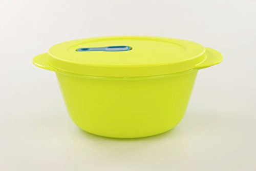 TUPPERWARE Mikrowelle CrystalWave 800 ml limette Mikro Micro Wave Pop Plus Fix