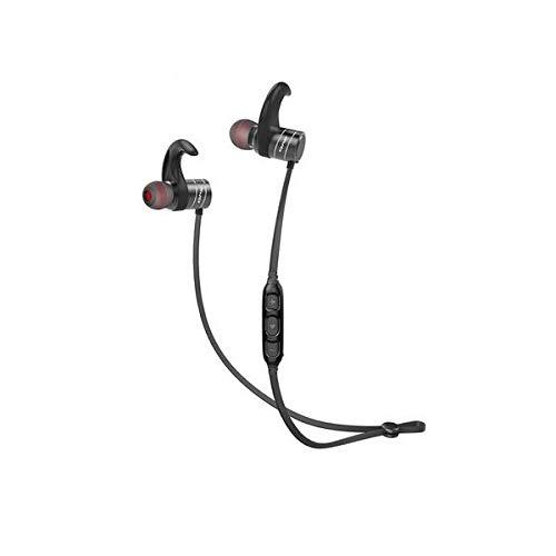 linqingshiduodeshangmaoyouxiangongsi ist Präfekt für Streaming/Podcasting/Gaming Bluetooth In-Ear-Stereo-wasserdicht Sport-Magnetic-Kopfhörer mit Mikrofon Line Control (Color : Black)