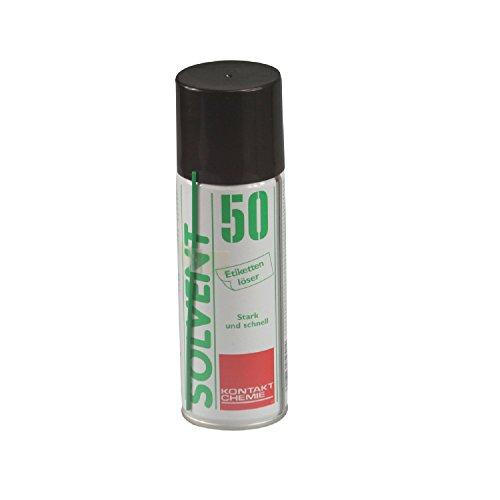 Spray: Etikettenlöser Solvent50 200ml