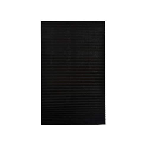 Benkeg Blackout Plissé Window Shades Jaloezie Blackout Light Block snoerloos zwart 90x180cm
