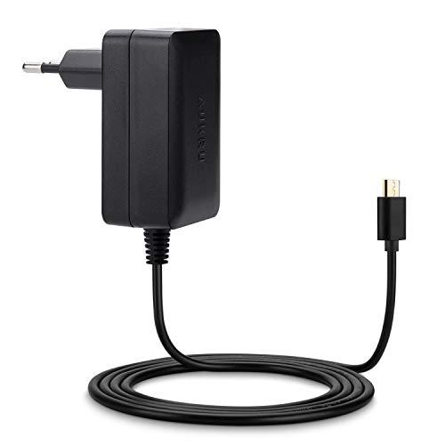 Aukru Micro USB 5v 3000mA Chargeur Adaptateur Alimentation Pour Raspberry Pi 3, Pi 2 modele b et Modele B+ (B Plus) ,Banana pi