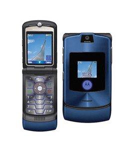 motorola V3i RAZR - Teléfono móvil, Color Azul