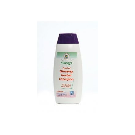 The House of Mistry Organic Natural Potenised Ginseng Herbal Shampoo