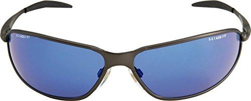 3M Marcus Grönholm Schutzbrille MGRÖ11Br, UV, PC, blau verspiegelt, Rahmen bronze