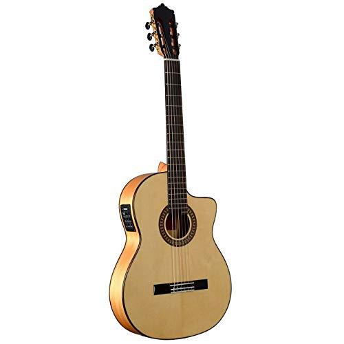 Guitarra Flamenca MARTÍNEZ modelo ESPAÑA ES-08 CE Cutaway Tapa Maciza fabricada en España EQ Fishman