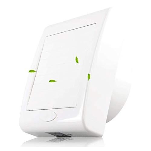 ASYCUI Lüftung Dunstabzugshaube Low Noise Wand Exhaust Fans Haushalt 4 Zoll Fenstertyp, Ventilator for Küche Badezimmer Lüftungsventilator