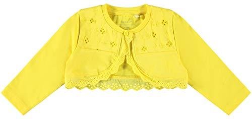 NAME IT Baby-Mädchen NBFFERIKA 2P Bolero Sweatshirt, Bright White, 68