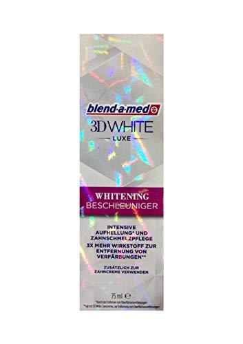 Blend-A-Med 3D White Luxe Whitening Beschleuniger 75 ml, Original Zahnaufhellung