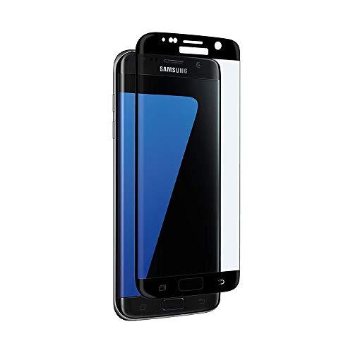 aiino - Pellicola Vetro Edge-to-Edge Curved per Samsung Galaxy S7 Edge, Resistenza 9H, Vetro temperato Curvo - Black