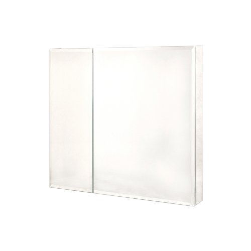 Pegasus SP4586 30-Inch by 30-Inch Bi-View Beveled Mirror Medicine Cabinet, Clear