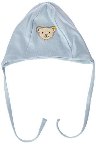 Steiff Unisex Baby Mütze mit Teddybärgesicht Verschluss, Angel Falls, 43