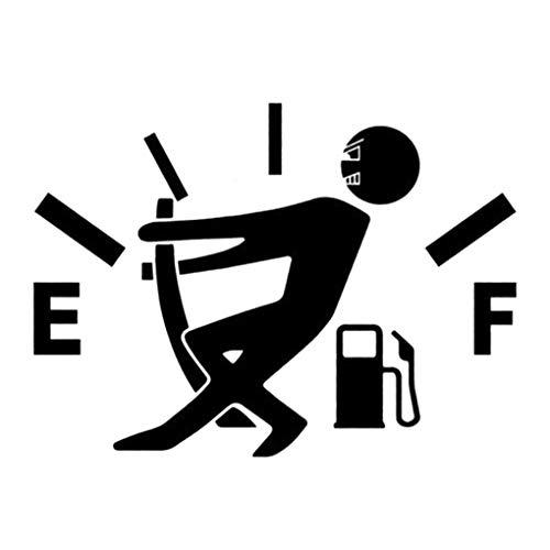 Bodbii Diseño Divertido del indicador de la Gasolina Imagen engomada del Coche del Tanque de Combustible del Casquillo de la Etiqueta de Coches Decoración Consejo de Adorno …