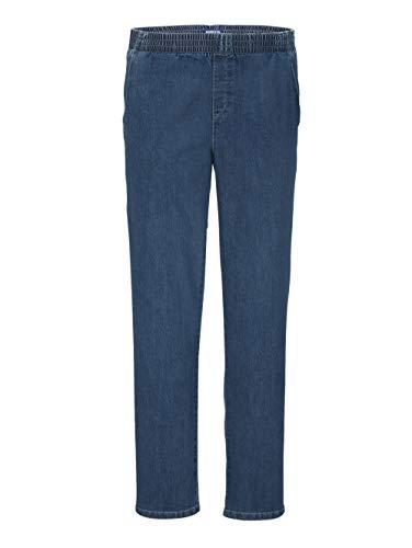 BABISTA Herren-Jeans – Männer-Hose aus Baumwoll-Mix, Comfort Fit Jeans-Hosen mit elastischem Rundum-Gummizug, Freizeit-Hose in Light Blue Gr. 60