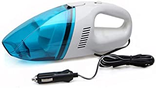 مكنسة كهربائية صغيرة للسيارة متعددة الوظائف للتنظيف الرطب والجاف - ازرق
