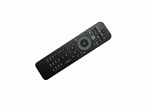 HCDZ General Replacement Remote Control Fit for Philips BDP5012/F7E BDP5110 BDP2205/F7 BDP2285 Blu-ray DVD Disc Player