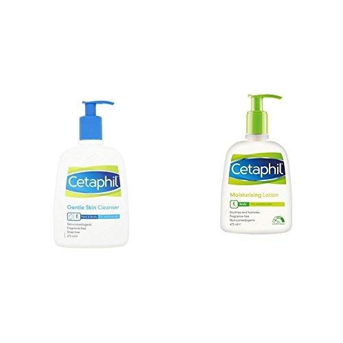 Cetaphil Gentle Skin Cleanser 473ml & Moisturising Lotion 473ml