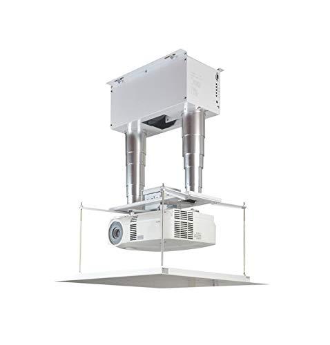 CGOLDENWALL Soporte de techo para proyector eléctrico, 30 kg, con rotación horizontal...
