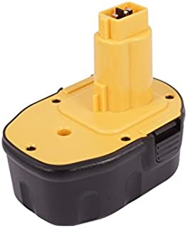 Replacement Battery for DEWALT DC528 Flashlight, DC551KA, DC612KA Part NO DC9091, DE9038, DE9091