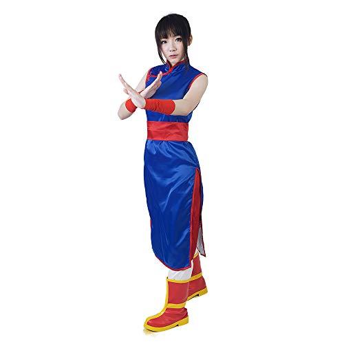 miccostumes Women's Chi Chi Cosplay Costume (Women s, Blue)