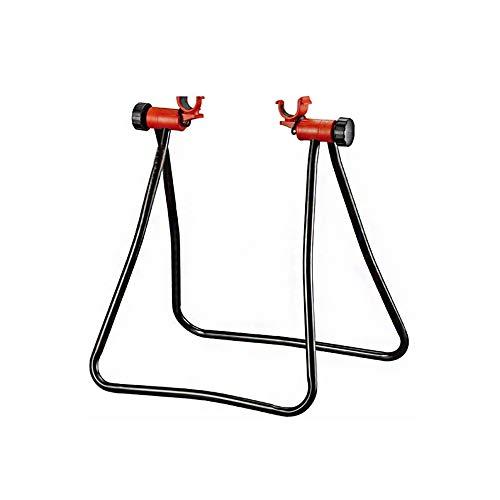 Bicicleta Soporte de Altura Ajustable Almacén para Bicicletas portabicicletas Cubo de Rueda Soporte de exhibición de Piso de Almacenamiento en Rack Kick reparación Soporte de la Bicicleta 1pc Negro
