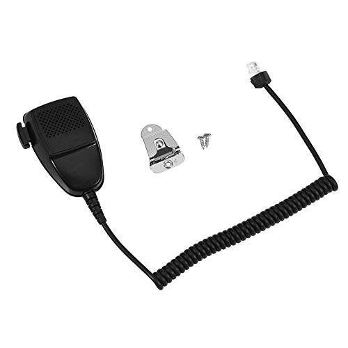 Topiky Handlautsprecher-Mikrofon, tragbares Hand-Schulter-2-Wege-Radio Externes Walkie-Talkie-Lautsprechermikrofon für Motorola GB338/GM950/GM300/GM3688/MCX760/GM3188 Mobilfunk