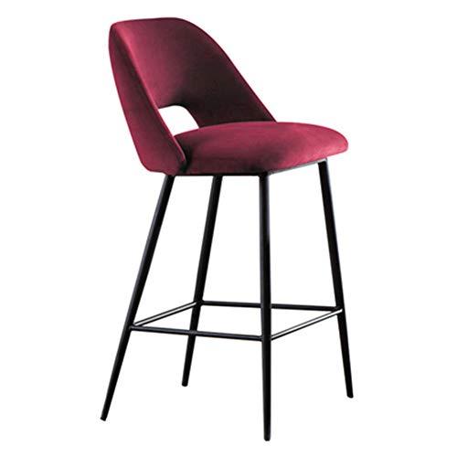 Barstoel modern minimalistische stijl LOFT design gepersonaliseerde kruk café restaurant barkruk hoog bar zithoogte 68 cm