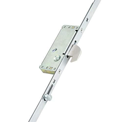ATT Fabrications Model 4 White French Door Set Single Handle 1190mm x 2090mm Anthracite Grey Outside/White Inside Left…