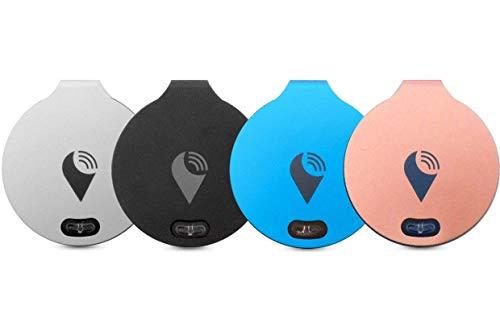 TrackR TB004S Bravo Bluetooth verknüpfte Aufspührer (4er Pack) für Apple iPhone/Android Mehrfarbig