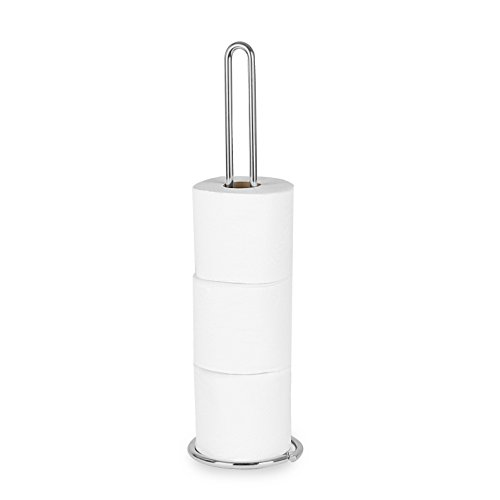 Spectrum Diversified Euro Toilet Tissue Reserve, Toilet Paper Holder, Toilet Roll Holder, Chrome