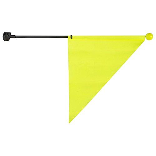 M-Wave Kinder Abstandsfahne, gelb, one Size