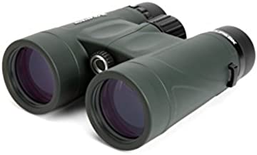 Celestron – Nature DX 10x42 Binoculars – Outdoor and Birding Binocular – Fully Multi-coated with BaK-4 Prisms – Rubber Armored – Fog & Waterproof Binoculars – Top Pick Optics