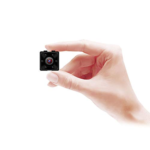 Supoggy Mini-Kamera, kabellos, HD 1080P ??berwachungskamera mit Nachtsicht, Bewegungserkennung f??r die Verwendung zu Hause, im Auto, per Dron