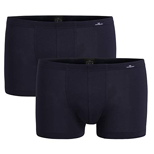 Götzburg Herren Modal Pants, 2 Stück, atmungsaktiv, weich, auch Übergröße, Navy (2, 8 / (XXL))