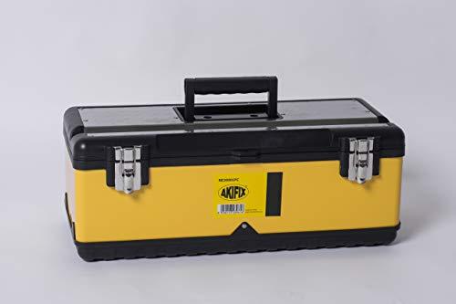 Akifix NE20001PC Cassetta,portautensili,Linea Metallo,equipaggiamento